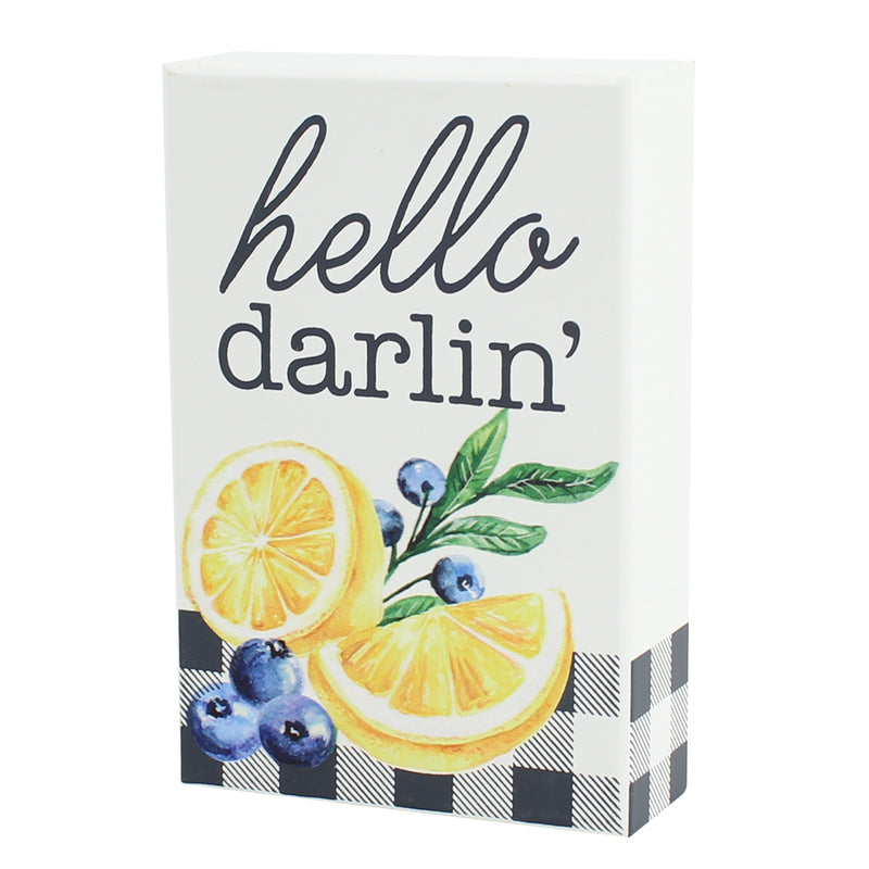 PS-7615 - Hello Darlin' Box Sign