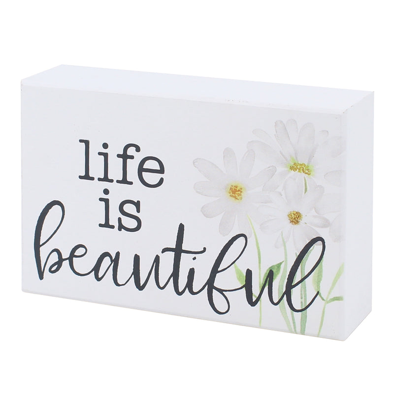 PS-7656 - Life Beautiful Box Sign