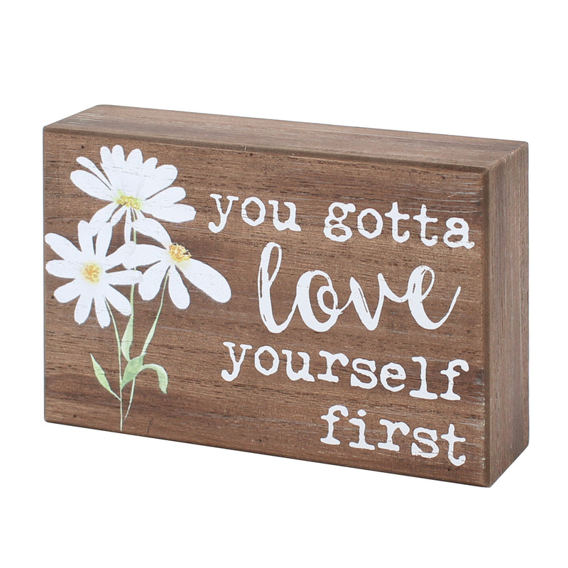 PS-7657 - Love Yourself Box Sign