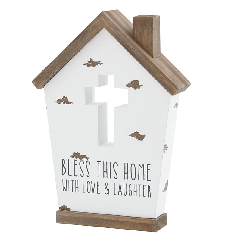 PS-7666 - Bless Home Birdhouse Cutout