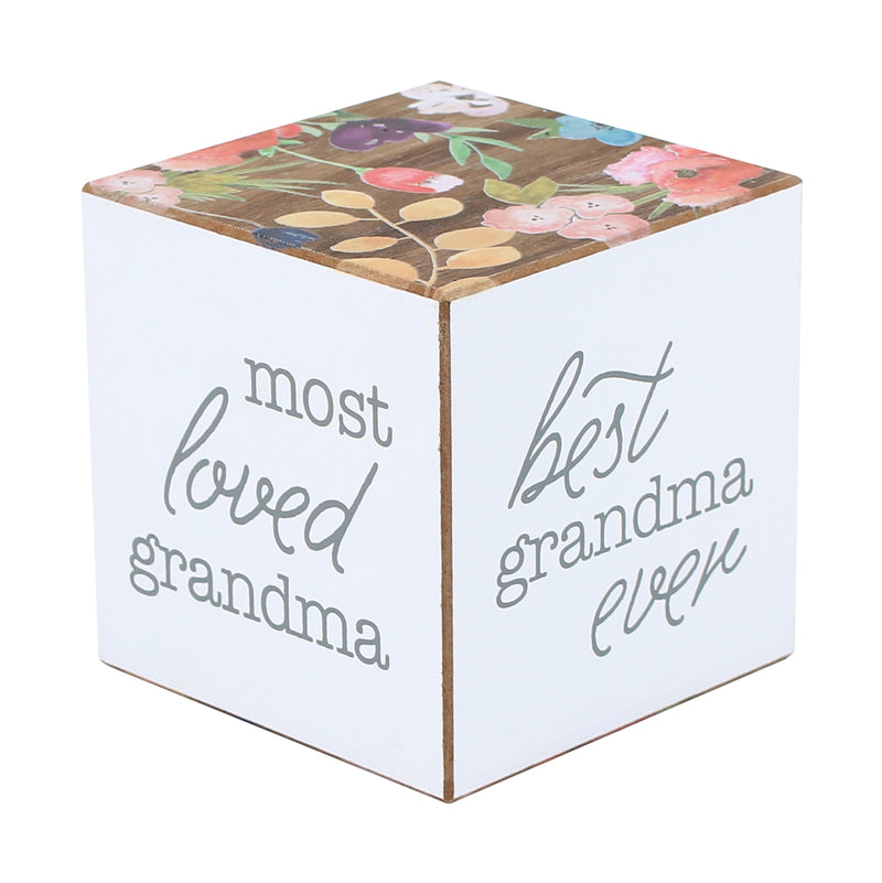 PS-7699 - Grandma Floral Cube (4-sided)