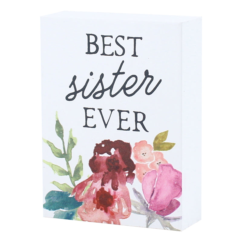 PS-7706 - Best Sister Block Sign