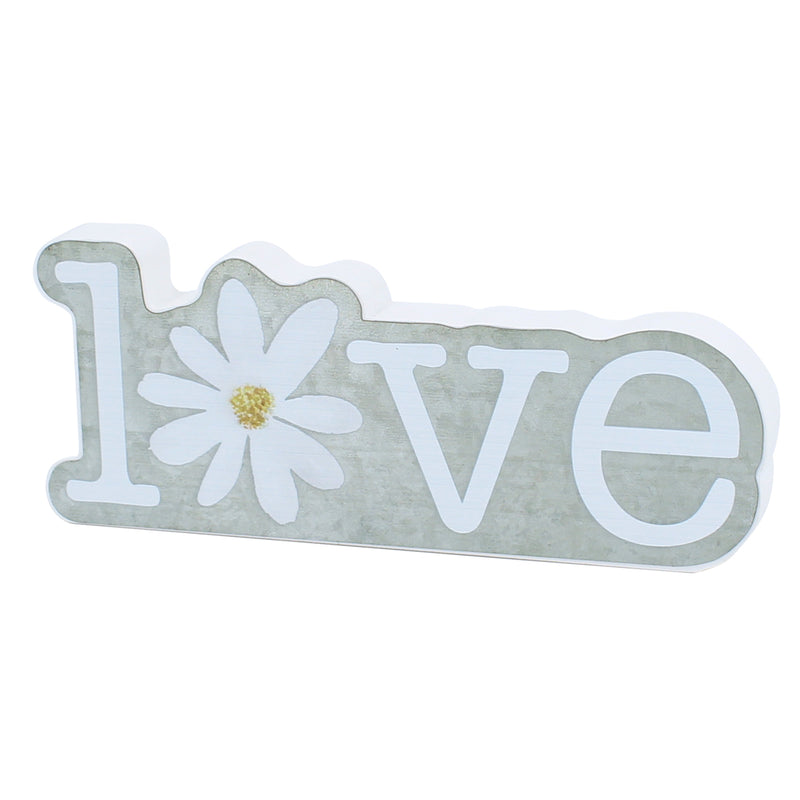 PS-7729 - Love Daisy Galv. Cutout