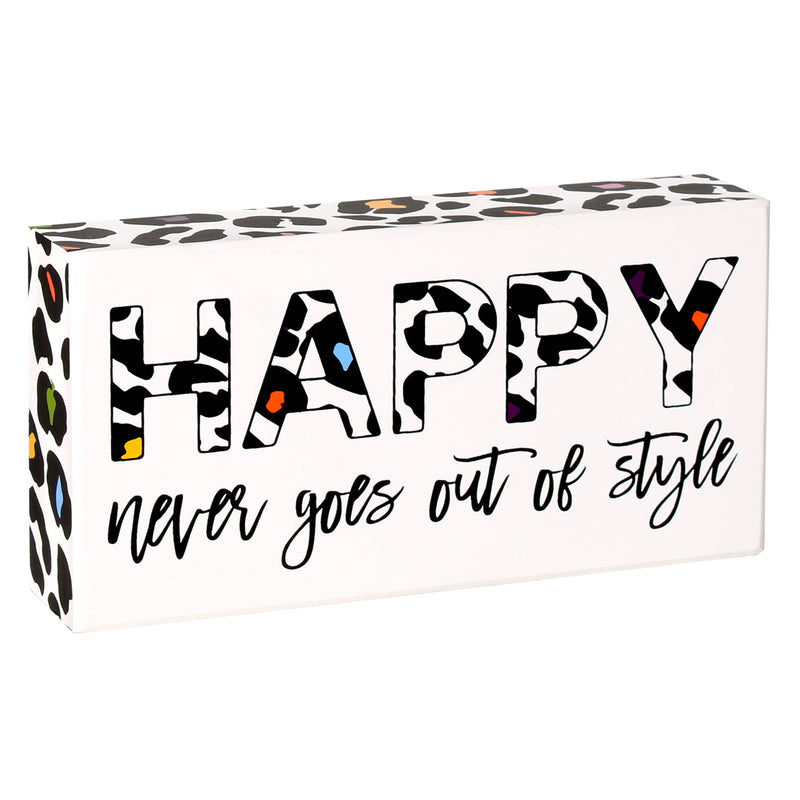 PS-7739 - Happy Style Box Sign