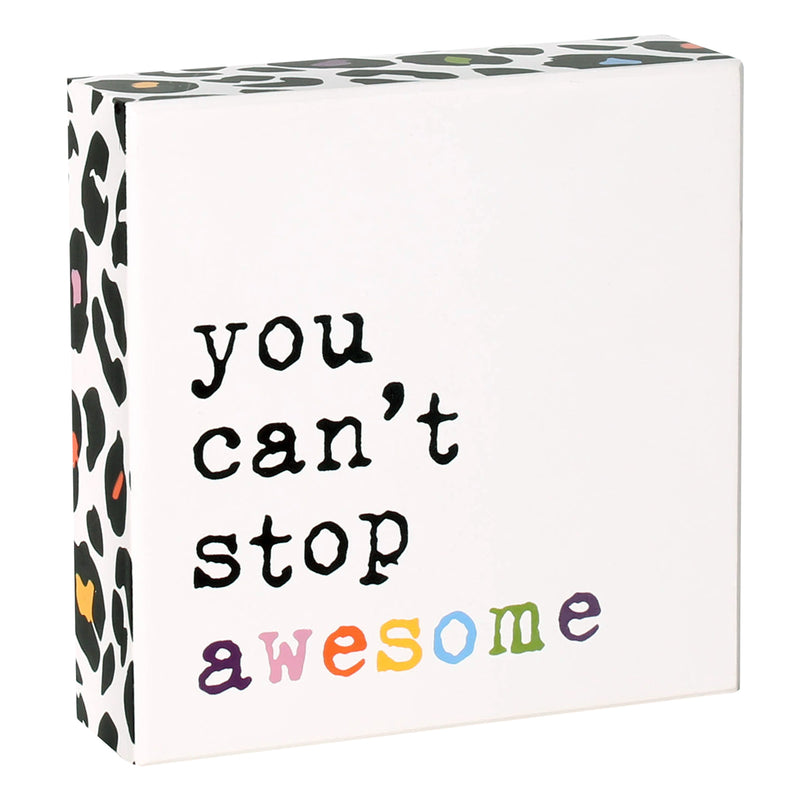 PS-7741 - Stop Awesome Box Sign