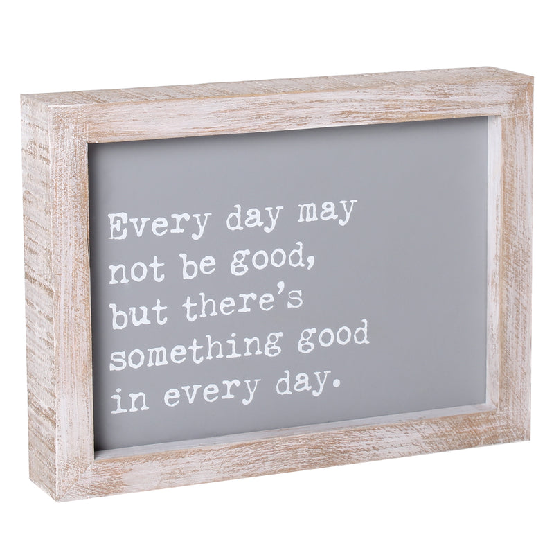 PS-7814 - Something Good Framed Sign