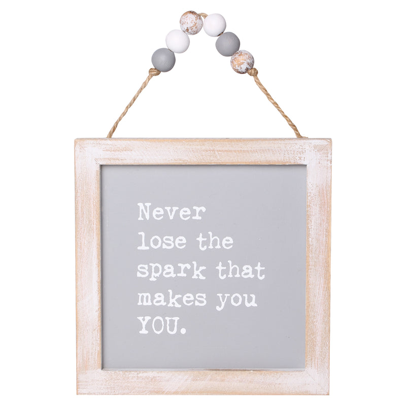 PS-7827 - Lose Spark Beaded Sign