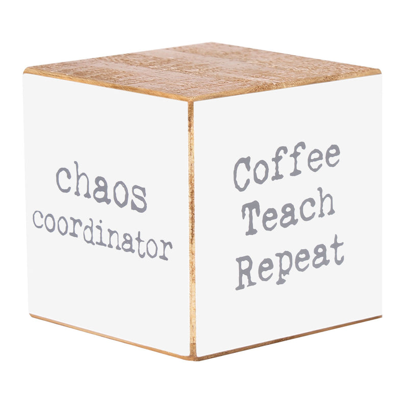 PS-7840 - Teacher Sayings Cube (4-sided)