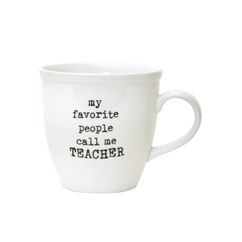PS-7843 - Call Me Teacher Mug