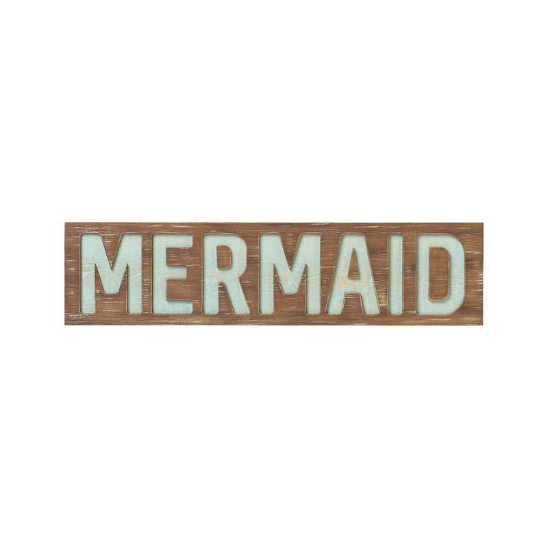 Mermaid Router Sign