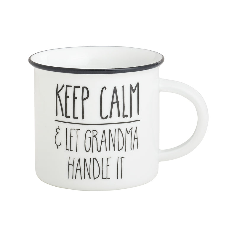 Grandma Handle Camp Mug