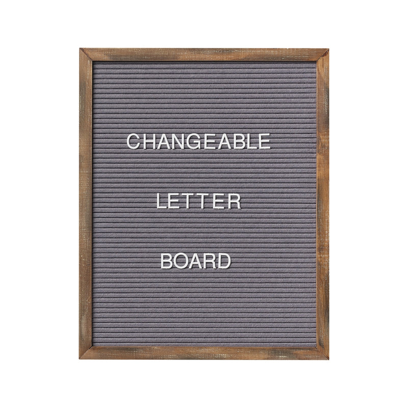 16x20 Gray Letter Board (includes 144 letters/symbols)