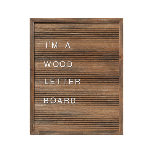 16x20 Wood Letter Board (includes 144 letters/symbols)