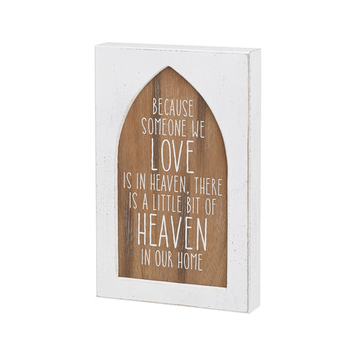 Heaven Box Sign