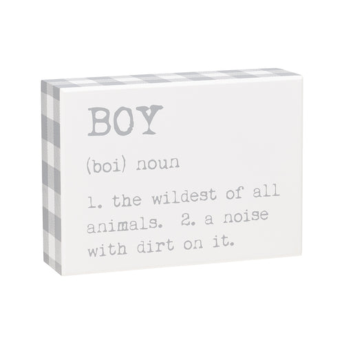 Boy Def Box Sign