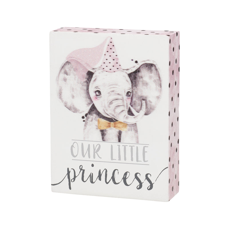 Little Princess Block Sign