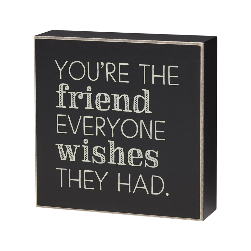 Everyone Wishes Box Sign