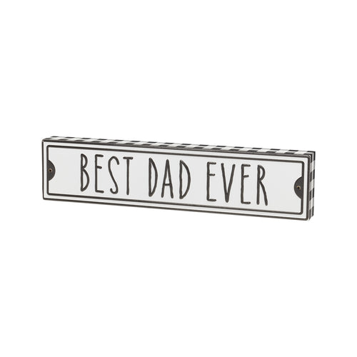 Best Dad Street Box Sign
