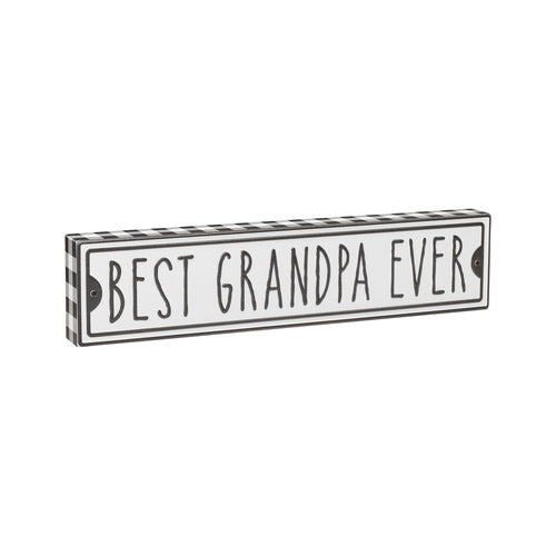 Best Grandpa Street Box Sign