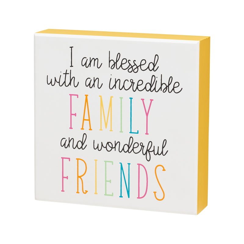 Wonderful Friends Box Sign
