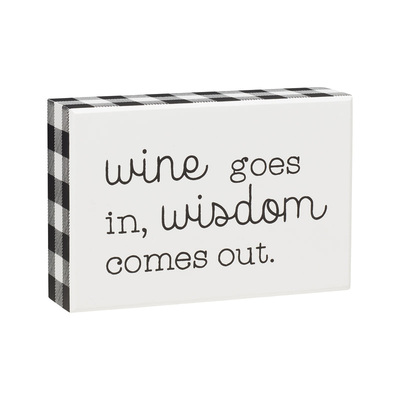 Wine In Box Sign