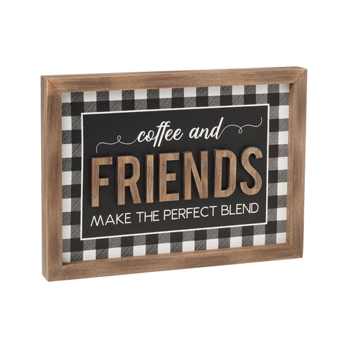 Perfect Blend 3D Framed Sign
