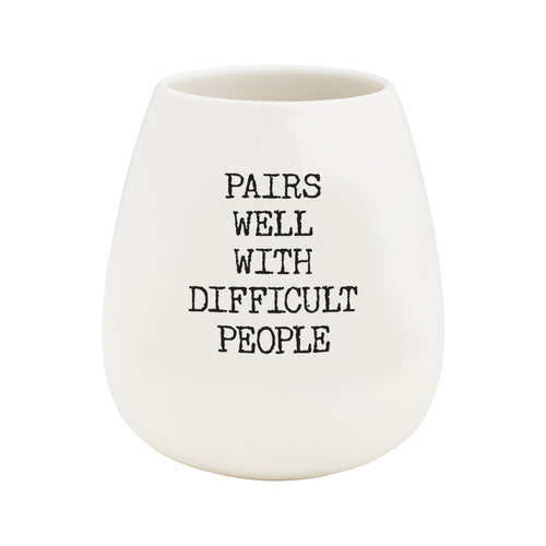 Difficult People Tumbler
