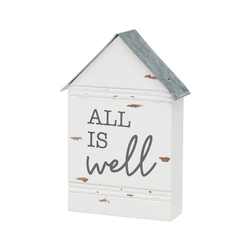 All Is Well Chippy House Block