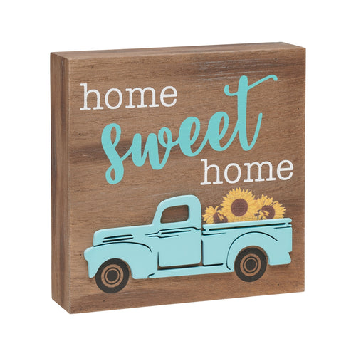 Sweet Home Truck 3D Box Sign