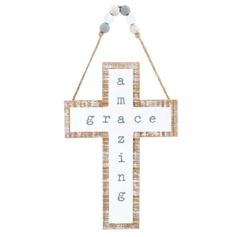 Amazing 3D Cross w/ Beads