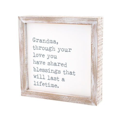 Blessings Lifetime Framed Sign