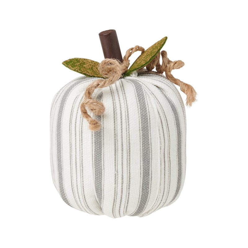 Sm. Gray Striped Pumpkin