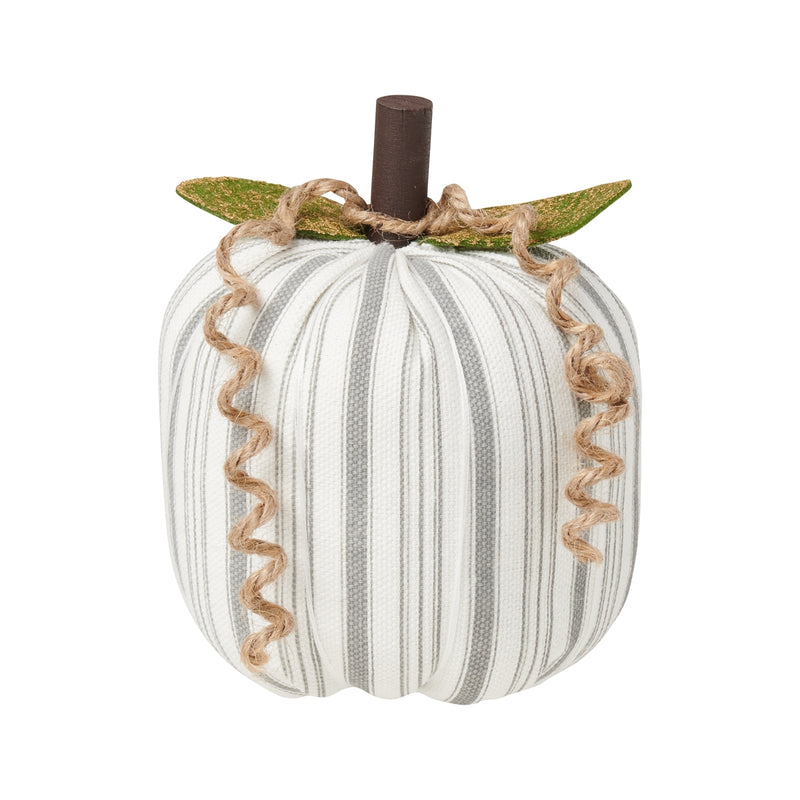 Med. Gray Striped Pumpkin