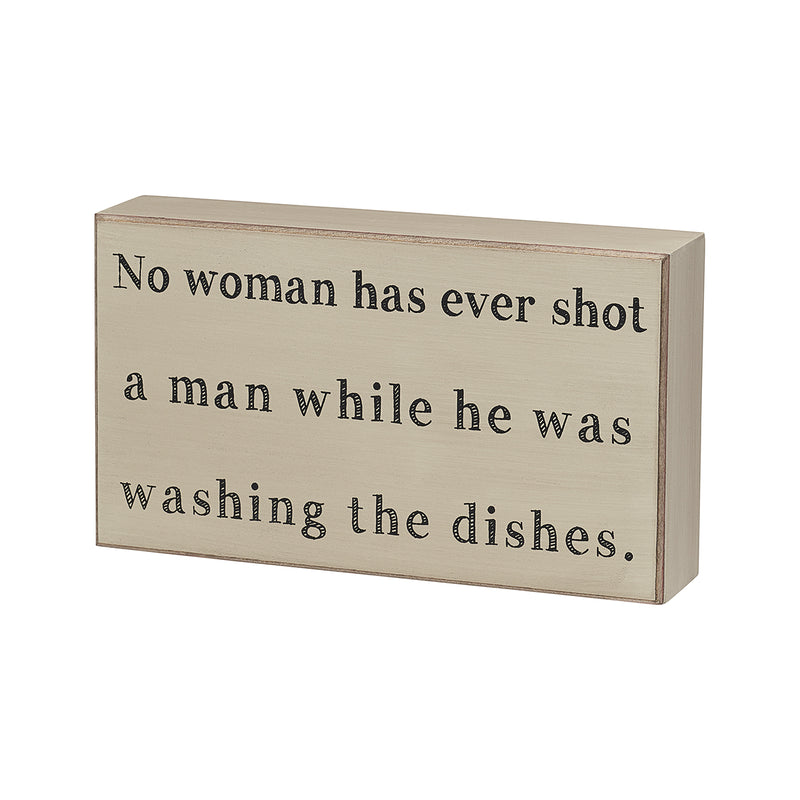 Washing Dishes Box Sign - DUE LATE FEB