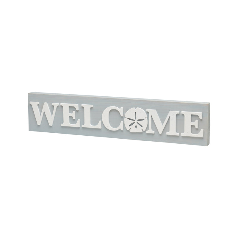 Welcome Dollar 3D Block Sign