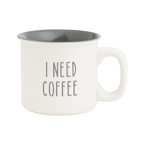 Need Coffee Engraved Mug