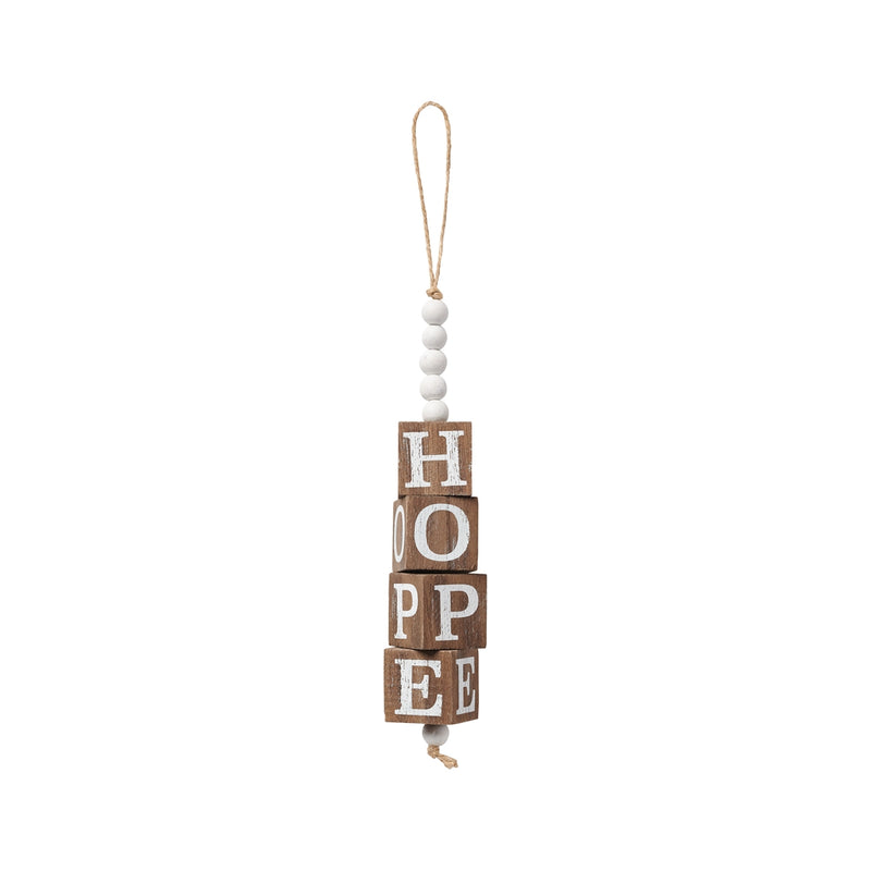 Hope Beaded Cube Ornie