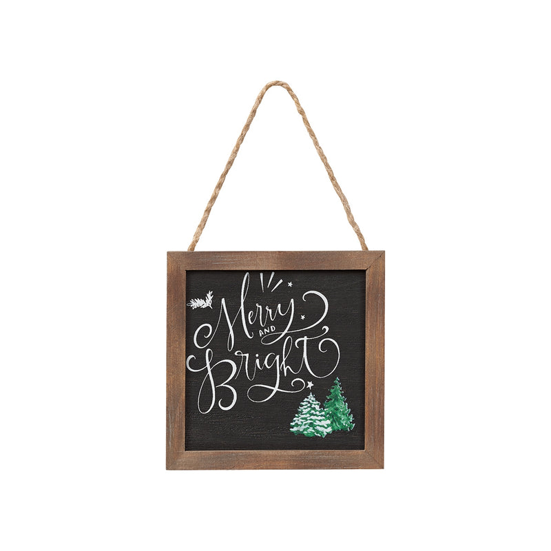 Merry & Bright Framed Ornie