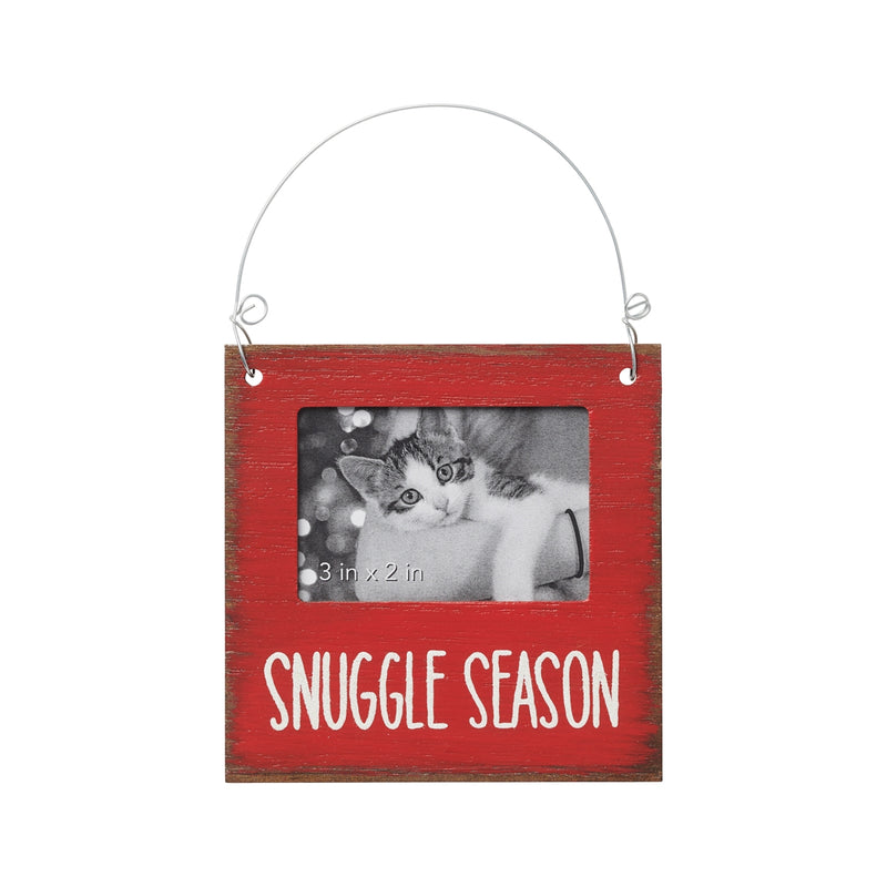 Snuggle Season Photo Ornie
