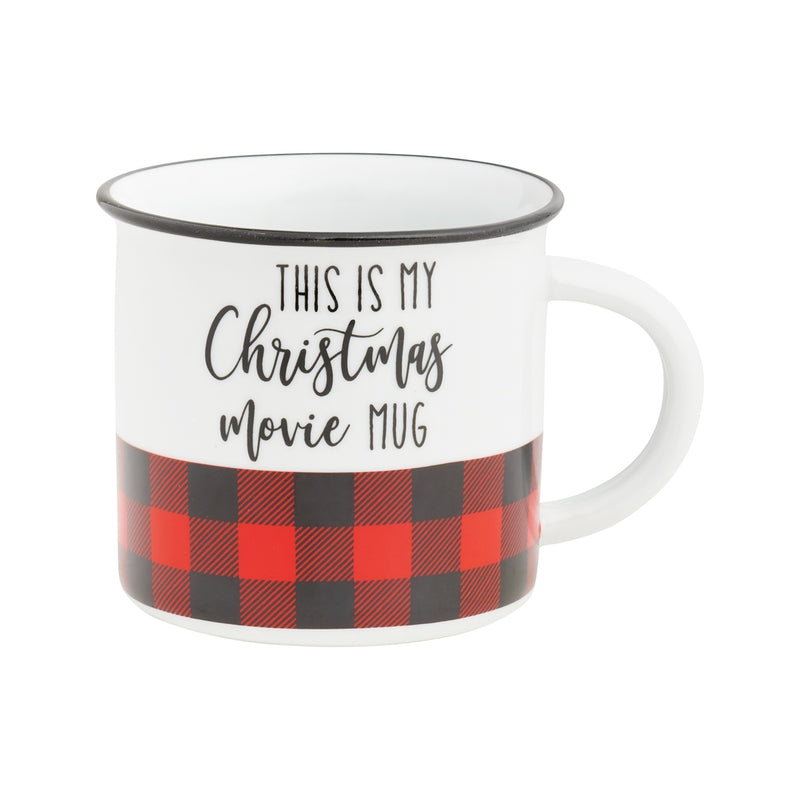 Christmas Movies Camp Mug
