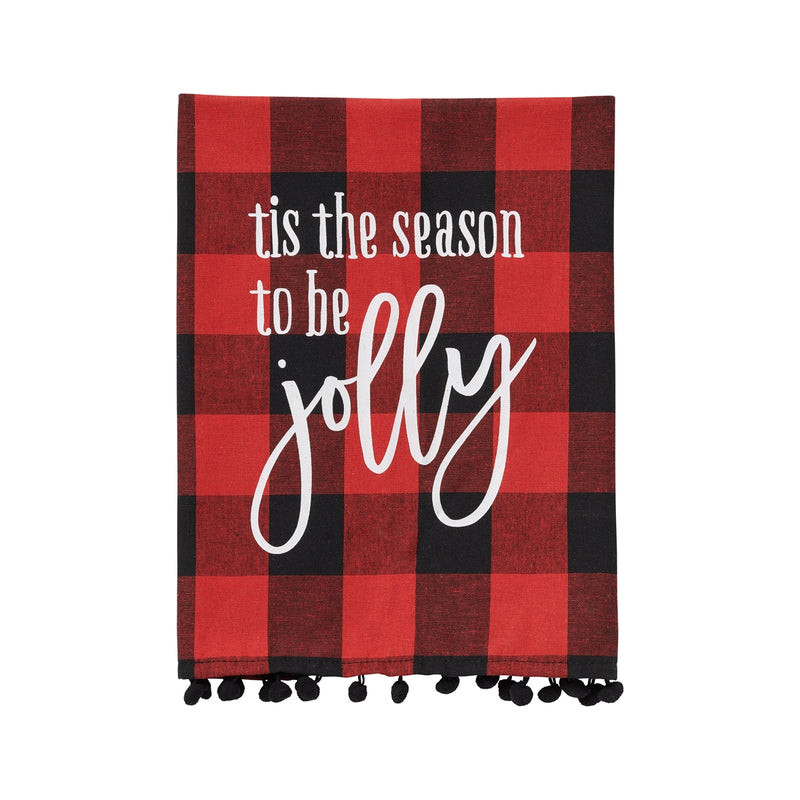 Jolly RB Check Tea Towel