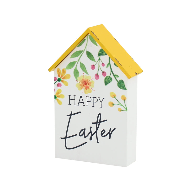 Happy Easter House Block