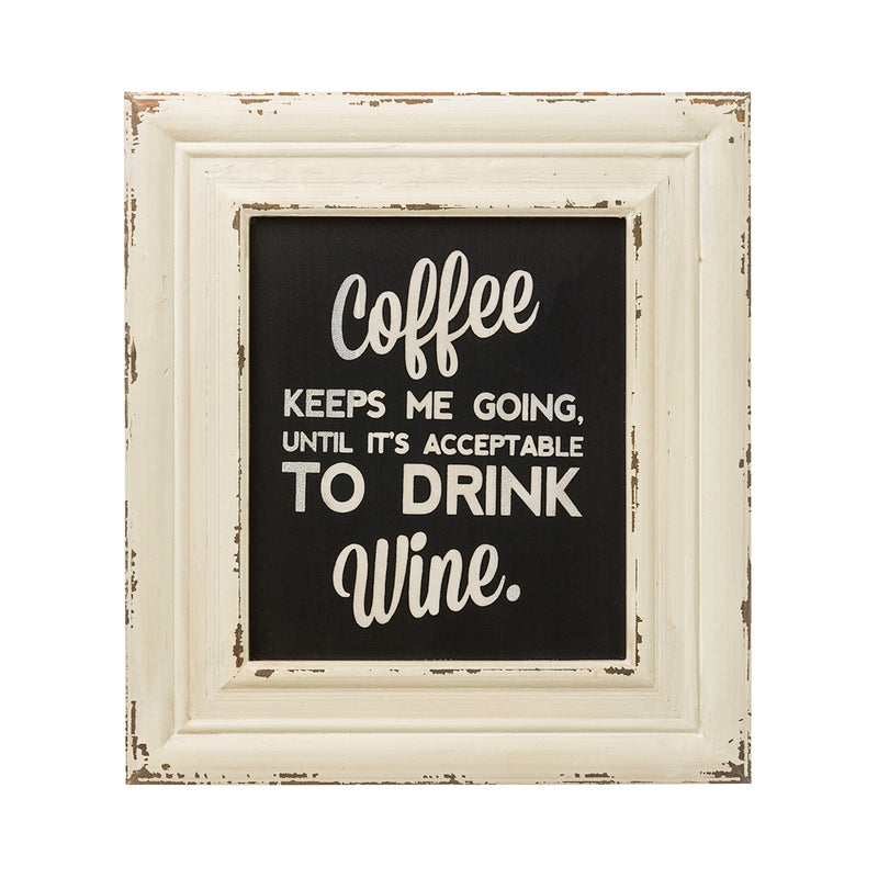 Drink Wine Frame Sign