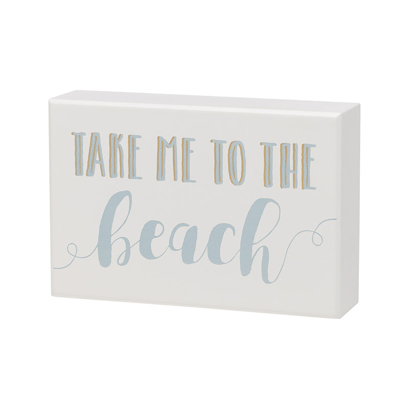 To The Beach Box Sign