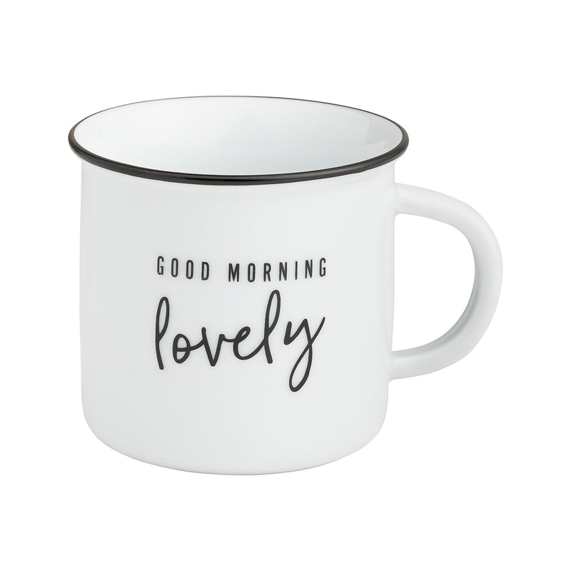 Morning Lovely Camp Mug
