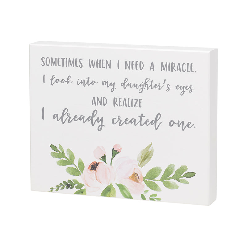 Need Miracle Box Sign