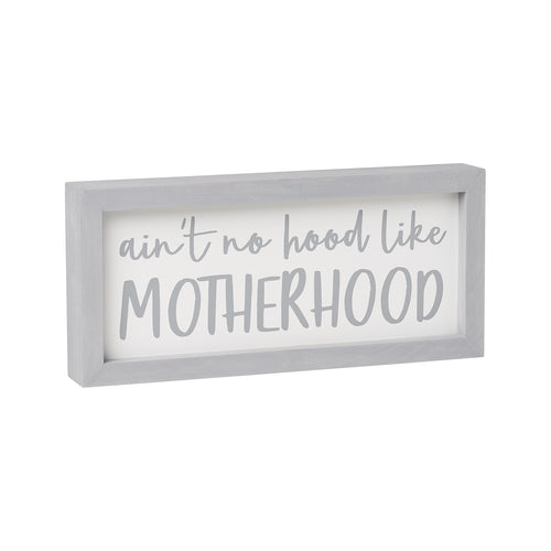 Motherhood Framed Sign