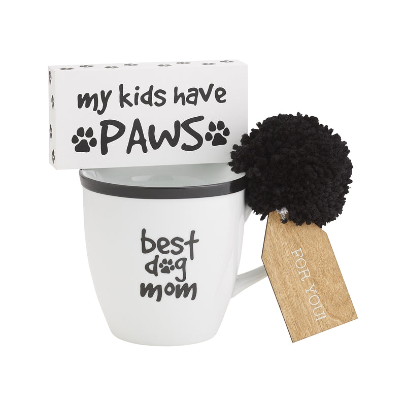 Best Dog Mom Mug Set