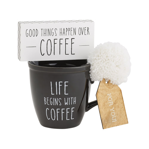 With Coffee Mug Set