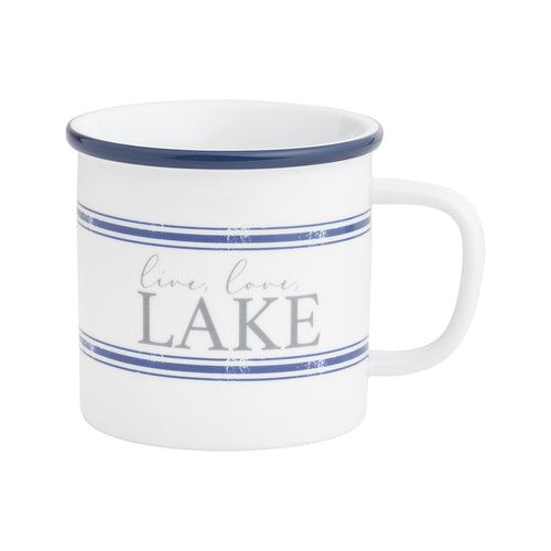 Love Lake Camp Mug